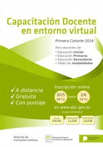 cap virtual 2016 1ra cohorte redes 2